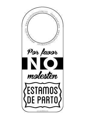 etiqueta bn parto castellano