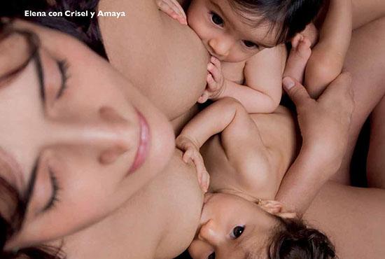 Elena, Crisel y Amaya